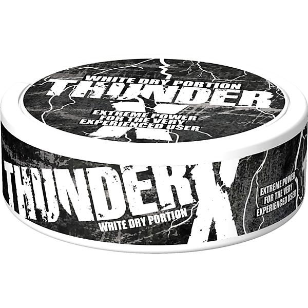 Thunder X White Dry Portion логотип
