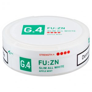 g4 fuzn slim all white portion