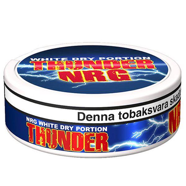 Thunder NRG White логотип