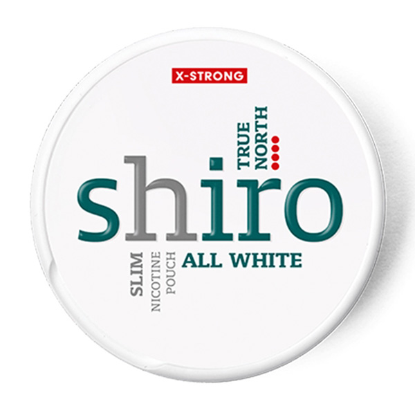 Shiro True North Slim All White логотип