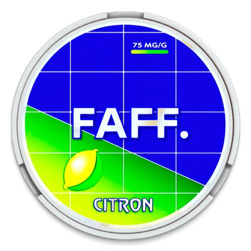 faff citron