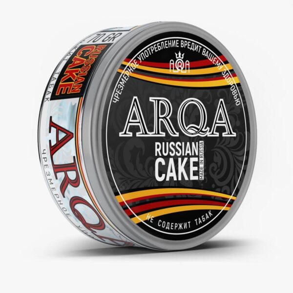 ARQA Russian Cake логотип