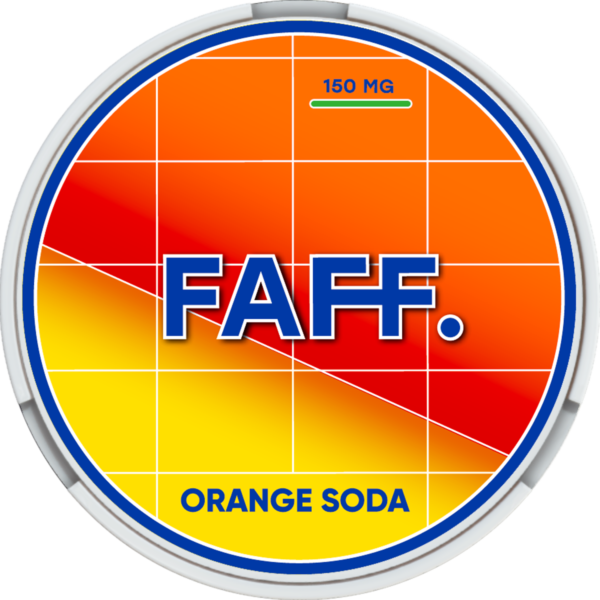 FAFF Orange Soda логотип